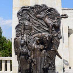 Basorelief realizat de sculptorul Aurel Bordenache