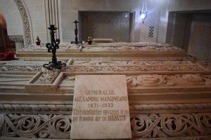 Sarcofagul generalului Alexandru Mărgineanu, Mausoleul de la Mărăști, Arhiva INP 2018