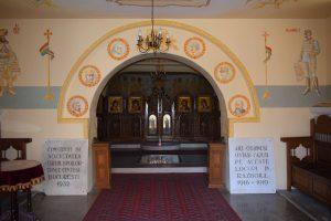 interior mausoleu