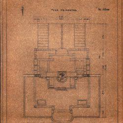 plan al mausoleului, sursa Arhiva DMI