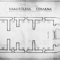 schita mausoleu comana Arhivele Militare
