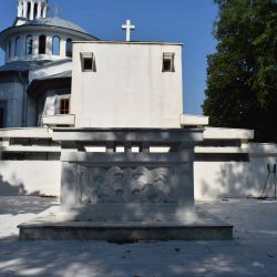 vedere E spate intrare mausoleu
